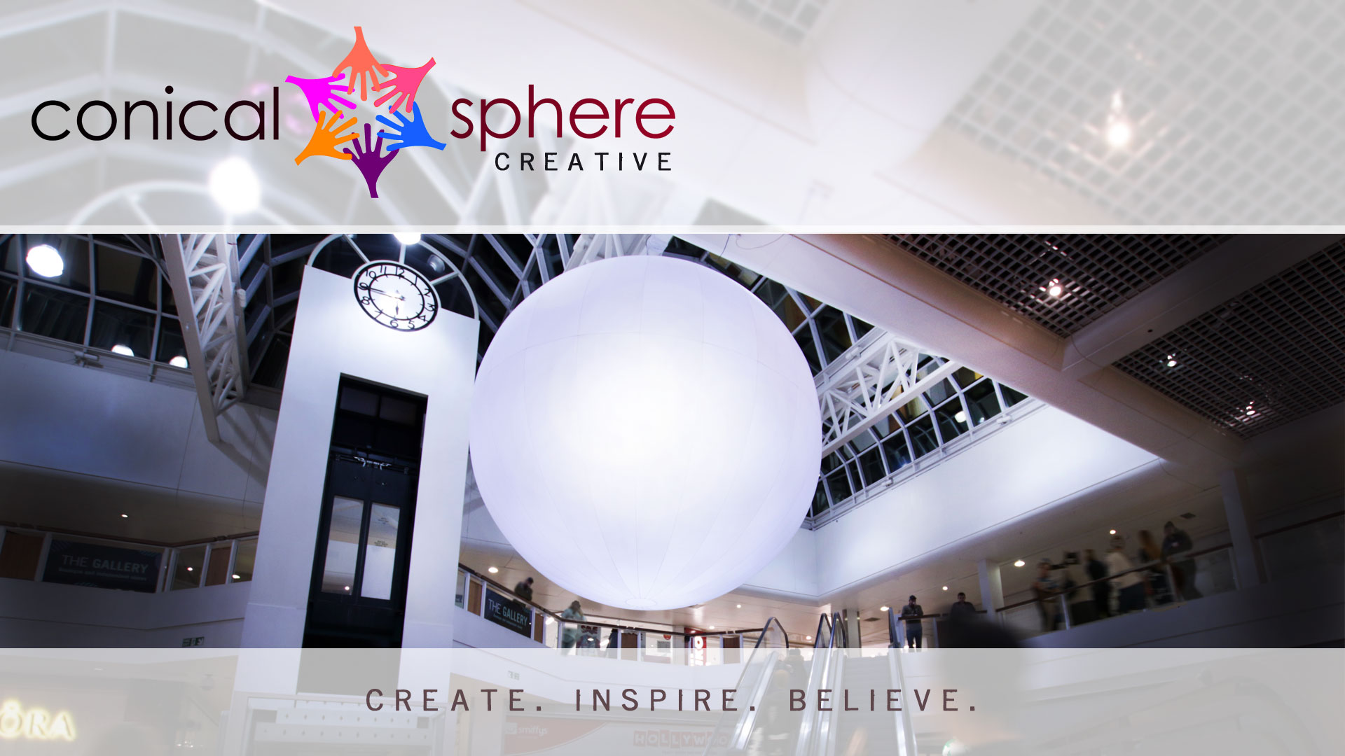 Creative Services Conical Sphere Media
