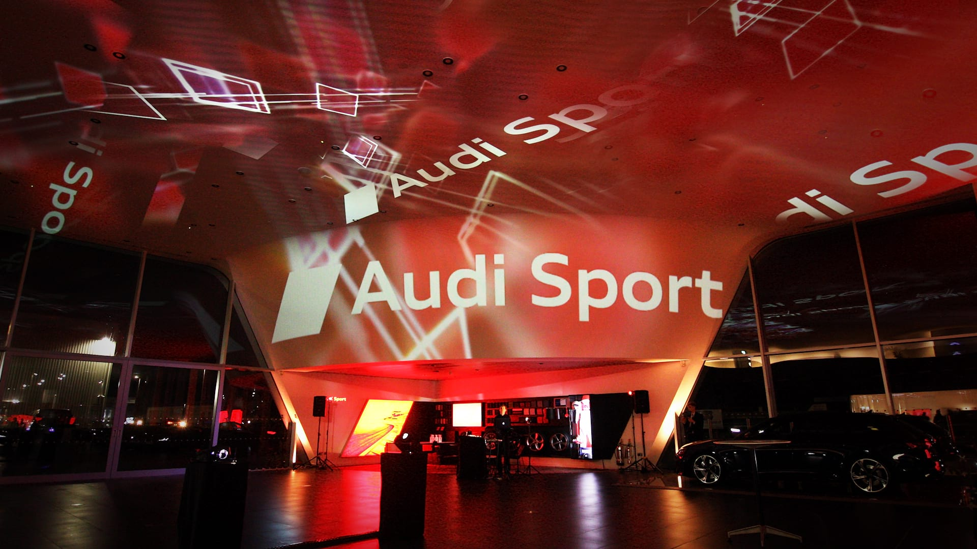 Immersive Projections at Audi Sport Poole Launch RS6 Avant