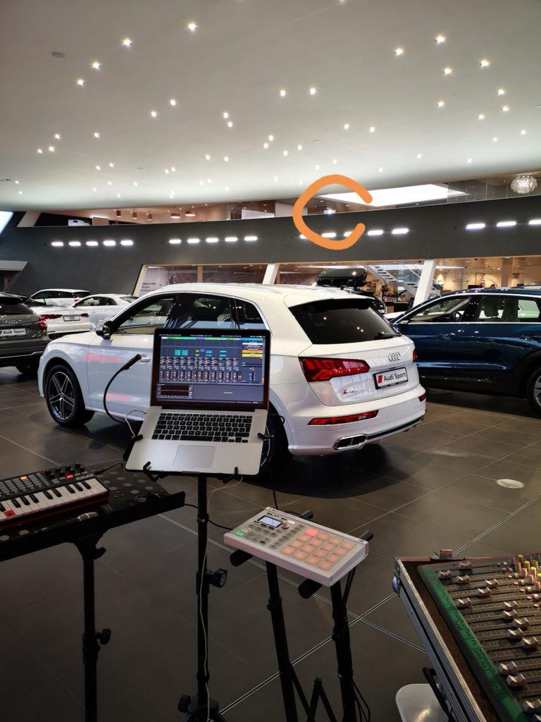 Projectors at Poole Audi