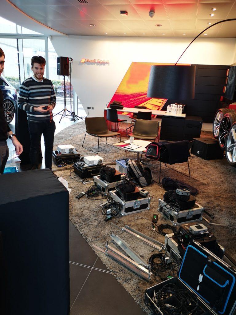 Installation at Poole Audi